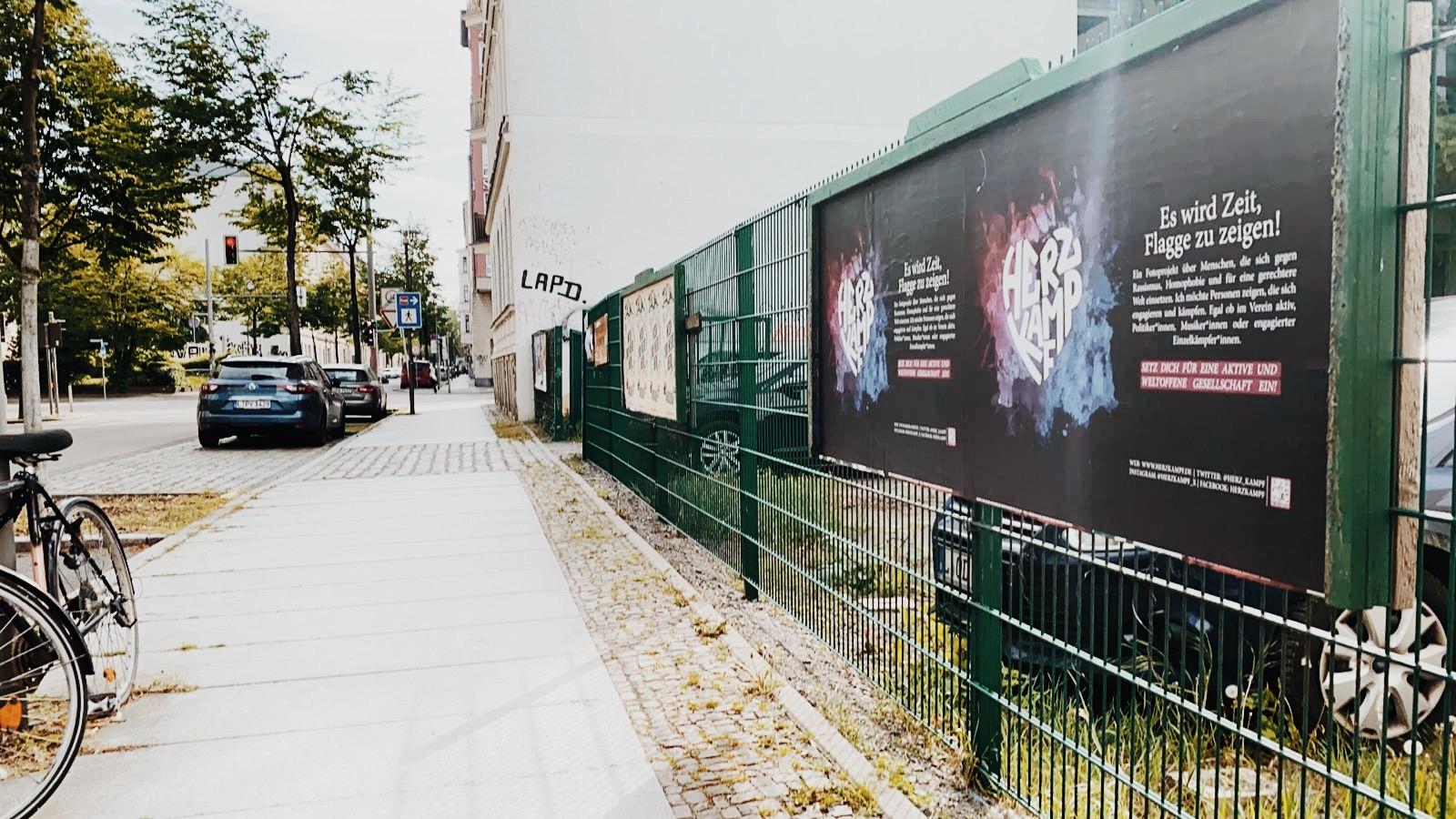 Herzkampf Plakate